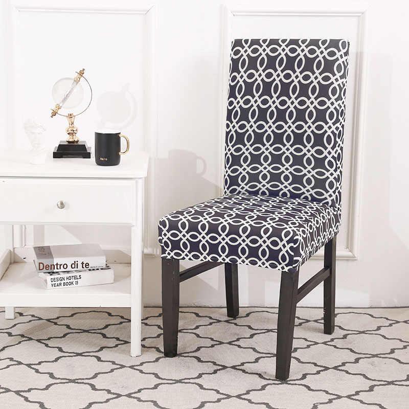 Чехлы на кухонные стулья растягивающиеся чехлы для сидений housse de chaise серый чехол для стула полотенце стул крышка для стула спандекс крышка для стула обеденный