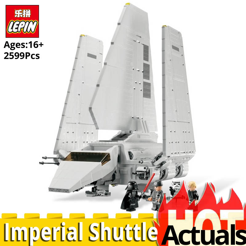 LEPIN Star Wars 05034 Classic Imperial Shuttle Building Blocks Bricks model building kit Compatible legoinglys 10212 Toys gift