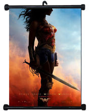 Wonder Woman Sexy Girl Justice League USA Hero Wall Scroll Poster Mural Decor #1   80x60cm