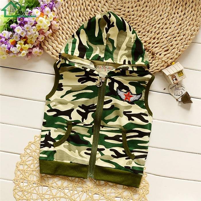 long sleeve camouflage kids clothes set0