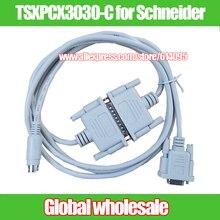 1 шт. 2 м белый SC-09 FX plc последовательный кабель для Mitsubishi FX1S/FX1N/FX2N/3U/ программирование ПЛК загрузки данных кабель SC09
