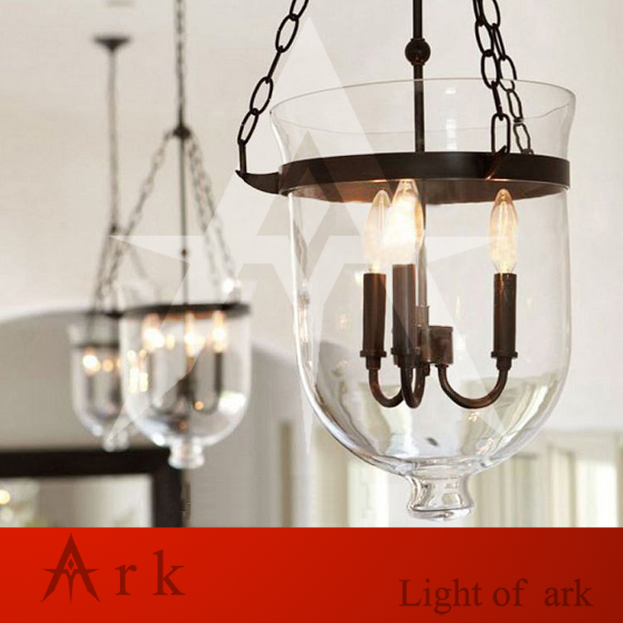 ARK LIGHT American vintage nostalgic GLASS  pendant light stair pendant light classical pendant light COFFEE HOUSE ark benefit u2 dual black