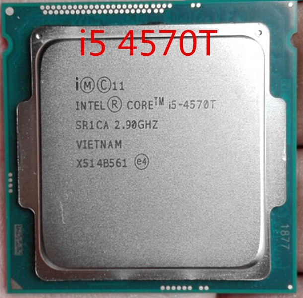Intel Core i5 4570T 2 9GHz Dual Core Quad Thread 4M 35W LGA 1150 Processor i5