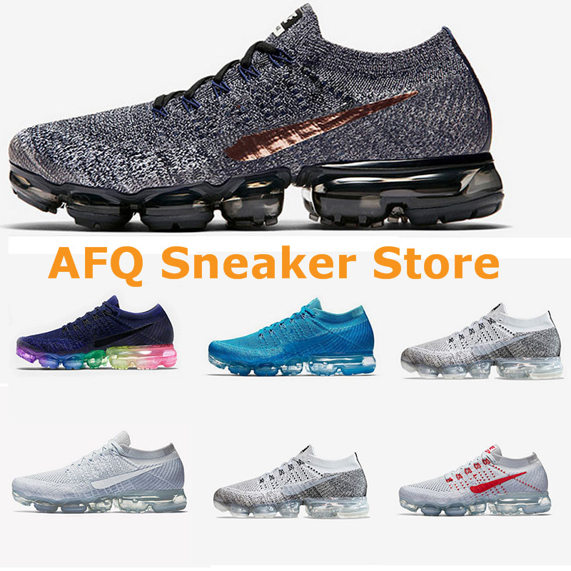 2018 New arrival vapormax running shoes for men and women sneakers air Cushion comfortable sport shoes for lovers free shipping