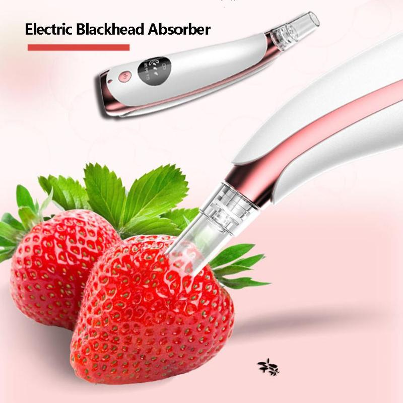 Electric Blackhead Remover Vacuum Suction Pore Cleaner Face Deep Pore Acne Skin Care Device Facial Dirt Beauty Tool in Face Skin Care Tools from Beauty Health