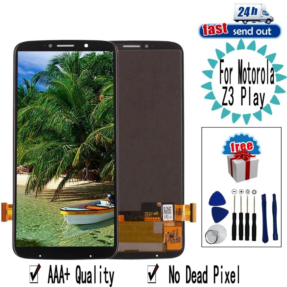 LCD Pour Motorola Moto Z3 Jouer LCD Screen Display Assemblée Digitizer Remplacement Pour Moto Z3 Jouer