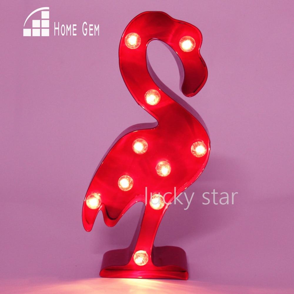 12-calowy metalowy flaming świetlny hotpink LED Marquee Sign LIGHT UP lampka nocna pokój dziecięcy Deration
