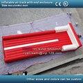 Pista de aire inflable con caja final pista caída inflable pista de aire inflable para el gimnasio Gimnasia estera de aire inflables