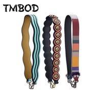 New 2019 Interchangeable Trendy Ripple Circle Genuine Leather Shoulder Strap Stud Strap You Famous Brand Strap Belts Bag j021