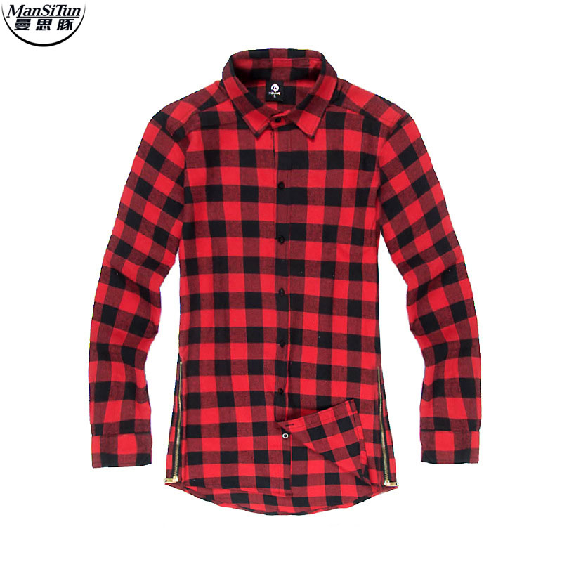 Online buy wholesale flannel shirt from china flannel for Buy plaid shirts online