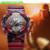 SANDA Relógio Do Esporte Dos Homens Relógio Masculino Digital LED Relógios de Pulso de Quartzo dos homens Top Marca De Luxo Borracha Digital-relógio Relogio masculino