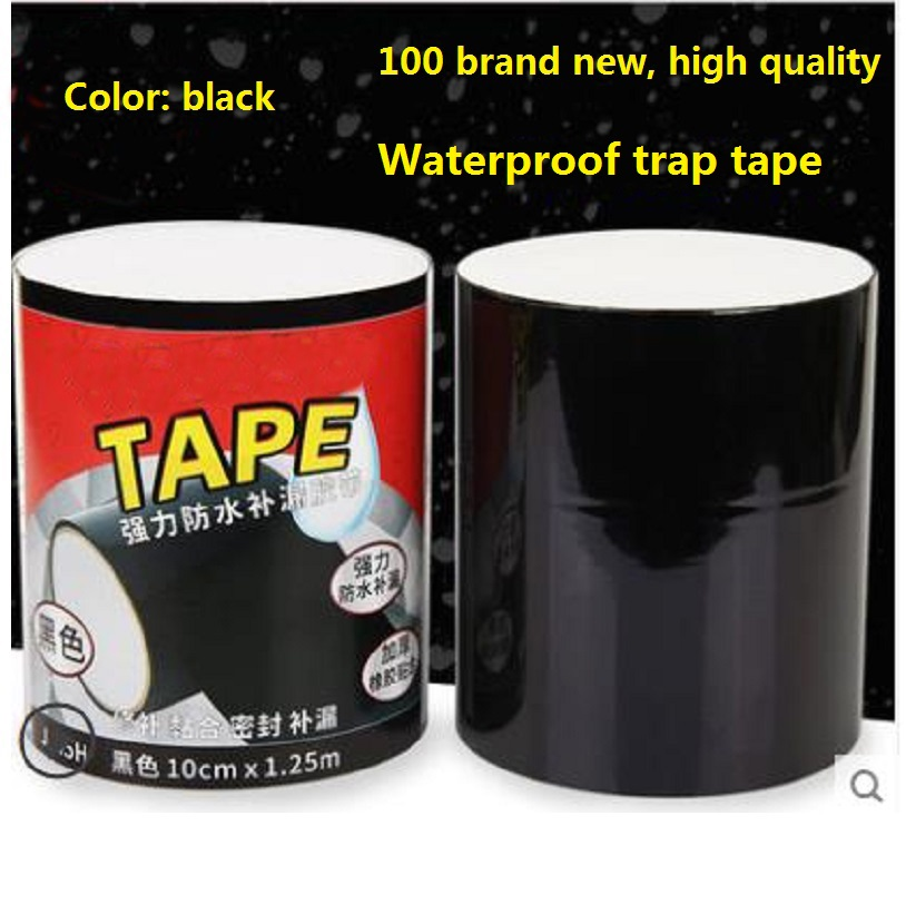 Black Tapes Accessory Rubberized Sealant Flex Bonding Waterproof Rescue