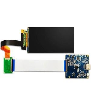 Image 3 - 5.5 pollici 2K LCD display dello schermo 1440x2560 LS055R1SX03 con HDMI a MIPI scheda del controller per WANHAO D7 3d Stampante Parti Del Proiettore