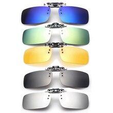 bafe0532b3 Gafas de sol polarizadas Unisex con Clip para conducir lentes de visión  nocturna Anti-UVA