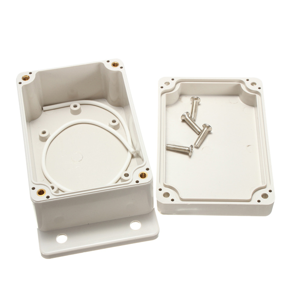 Durable ABS Plastic Dust/Waterproof Electronic Enclosure Project PCB Box Case Cover SHell 100x68x50mm Electrical Connector  цены