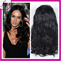 Feeling human hair lace front wigs brazilian virgin hair glueless lace front wigs for black woman