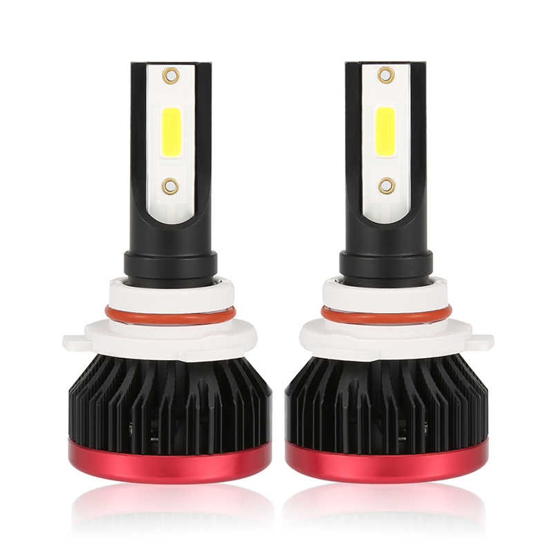2PCS Mini H7 LED Headlight Bulbs H3 100W 20000LM LED 9006 COB Chip H1 Car Headlamp Fog Light 12v 24v