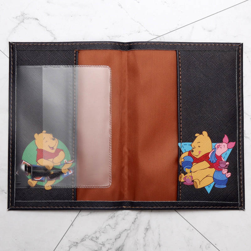 Fashion Cute Cat Duck Animals Cartoon Passport Cover Men Women PU Leather Travel Passport Holder Case Card ID Holders 14 5 10cm in Card ID Holders from Luggage Bags