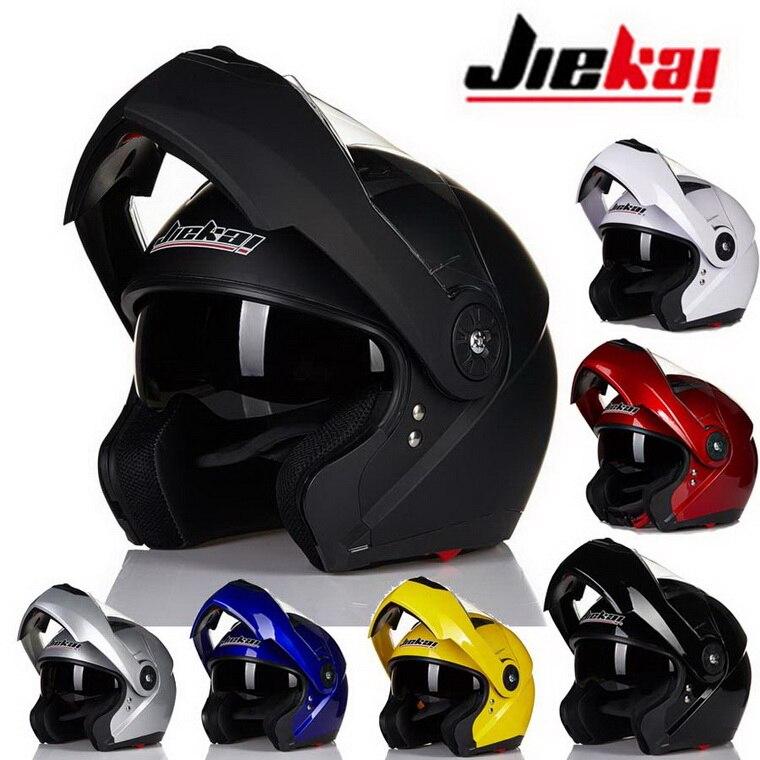 ФОТО 2016 New Style JIEKAI open face motorcycle helmet JK115 undrape face motorbike helmet made of ABS have 7 kinds colorsize M L XL