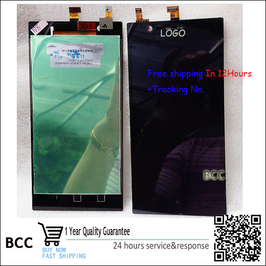 ФОТО 100% Original Warranty LCD Display Touch Screen Digitizer Assembly For lenovo K900 Best quality with tracking number
