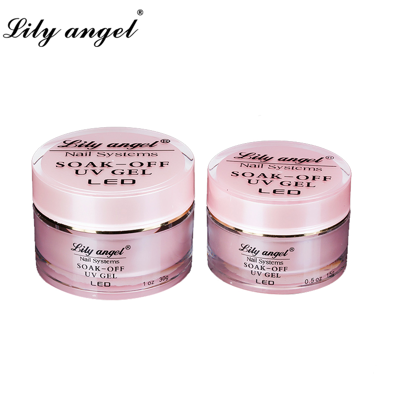 Lily angel High quality Resin UV Gel 15/30g UV Nail Gel Strong Builder UV Gel Need LED Lamp Gel Polish Soak-off Long Lasting ibd конструирующий камуфлирующий розовый гель 5 ibd traditional uv gel led uv builder gel pink v 18017 56 г page 3