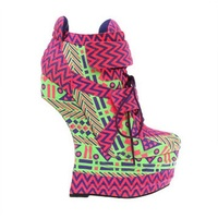 Лидер продаж 2018, женские ботинки на очень высоком каблуке, с цветочным рисунком, необычный стиль, серебристые Клубные туфли на высокой платф