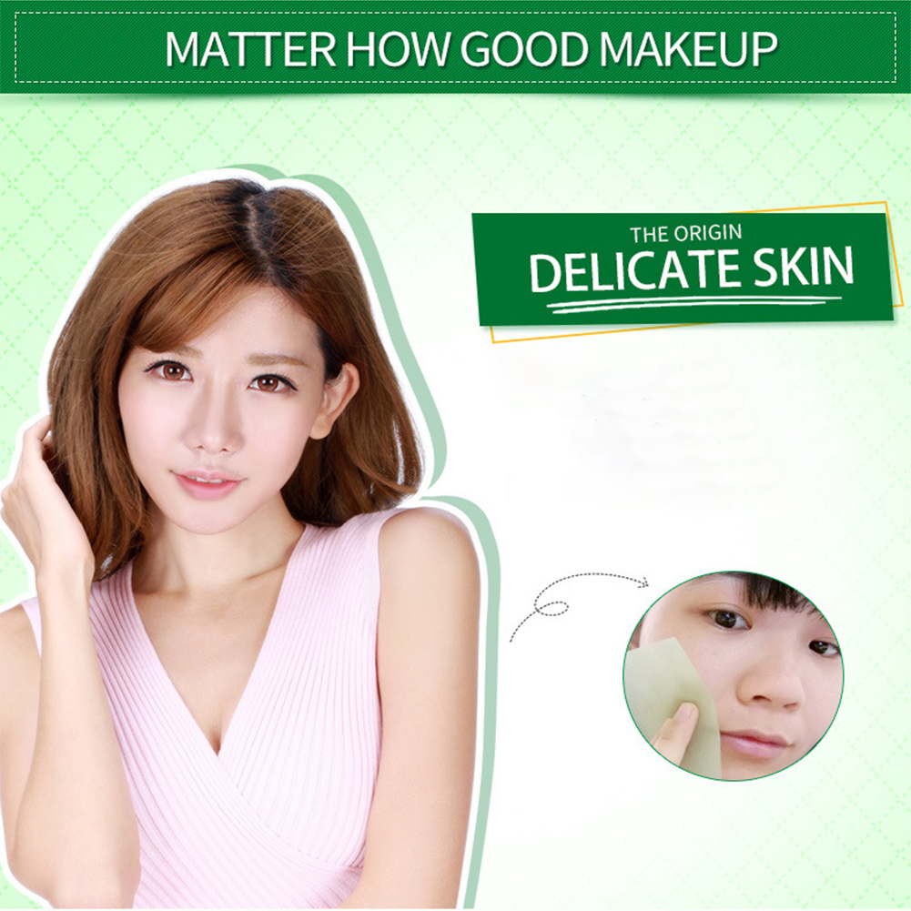 100Pcs Facial Clean Skin Care Make Up Professional Soft Face Tool Mild Oil Absorbing Paper Blotting Refreshing Comfortable
