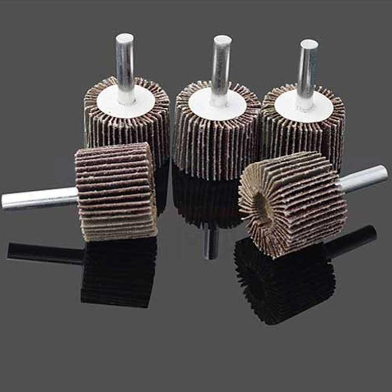 10 pcs roue à lamelles pour diamètre de tête de polissage des - Outils abrasifs - Photo 4