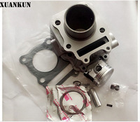 XUANKUN Scooter Accessories 125 HJ125T 8 Cylinder Combination Cylinder Block Piston Ring