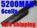 5200 MAH Nueva 6 celdas de batería Portátil Para asus A45 A55 A75 K45 K55 K75 R400 R500 R700 U57 X45 X55 X75 Series, A32-K55 A41-K55