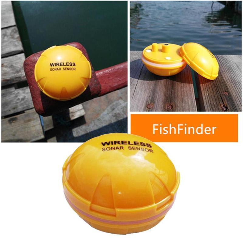 Mobile Phone Operating fishfinder sonar for fishing deeper wireless wifi depth fish finder 2.5-120ft fishing sounder цена