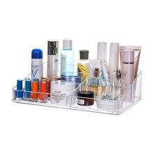 Mordoa Creative Acrylic the Skin Desktop Receive Case Clear mac Lipstick Desktop Nail Polish Rack Jewelry Display Make-up box(China)