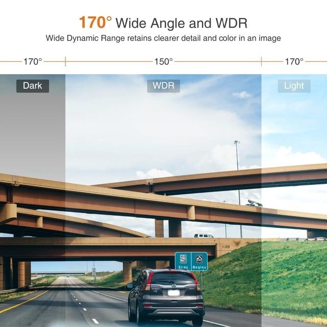 New Dash Cam Safeel Zero Car DVR dash camera Real HD 1080P 170 Wide Angle dashcam With G-Sensor Parking Mode car camera Recorder 5
