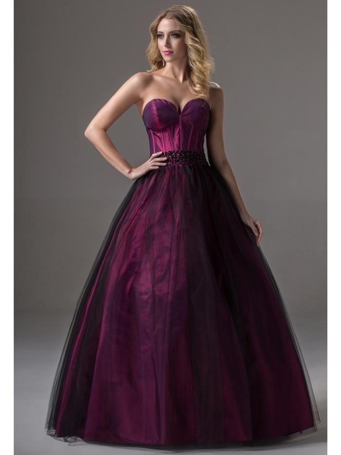 Online Get Cheap Princess Prom Dresses Ball Gown Black -Aliexpress ...