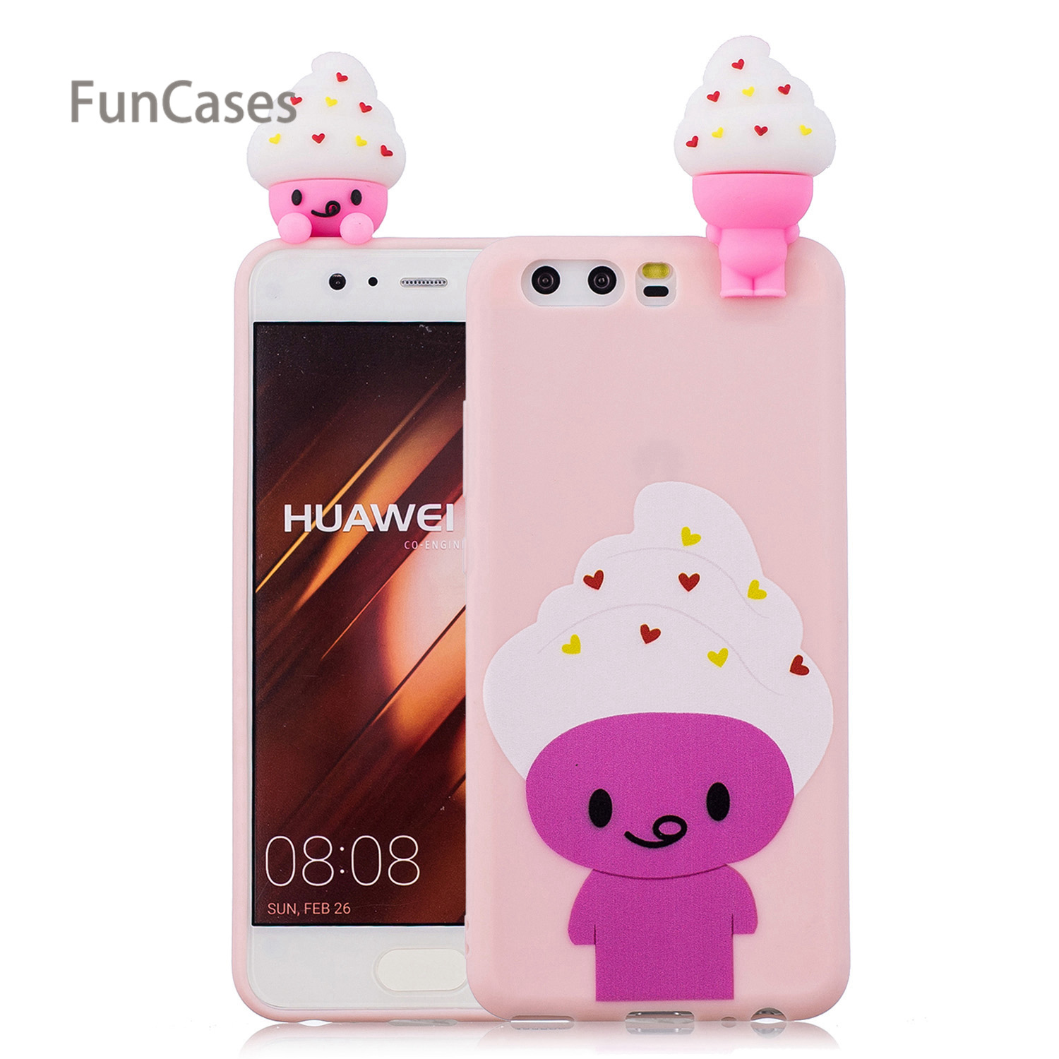 3D Owl <font><b>Phone</b></font> <font><b>Case</b></font> sFor Etui Huawei P10 Soft TPU Back Cover Carcasa Quotes Messages Telefon Aksesuar <font><b>Case</b></font> For Huawei Ascend P10