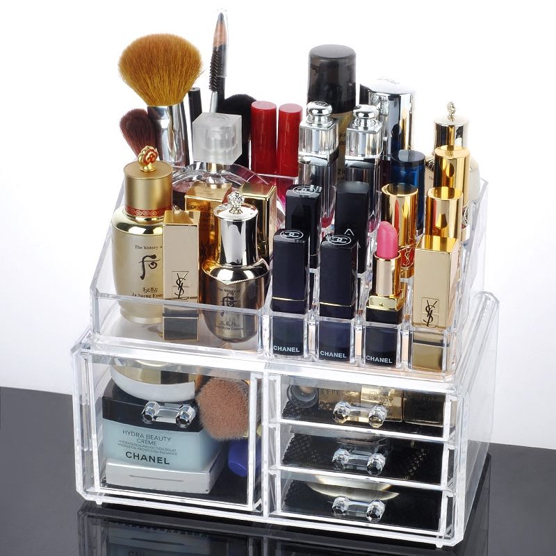 Popular drawer organizers buy cheap drawer organizers lots - Acrylic desk organizer set ...