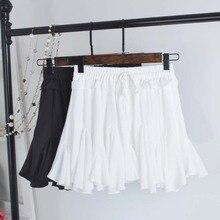 Весна и лето 2019 новая Корейская женская модная плиссированная юбка с высокой талией шифоновая юбка