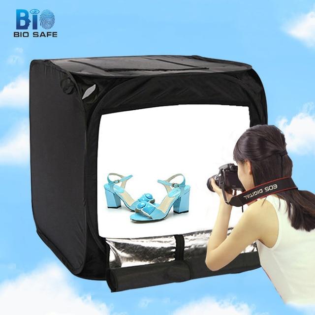 [Bio Tabletop Shooting] Mini LED Tabletop Shooting Lightbox Tent Photo Studio Kits Photo Fill & Bio Tabletop Shooting] Mini LED Tabletop Shooting Lightbox Tent ...