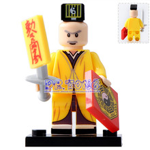 DR TONG Single Sale WM204 Ching Ying Lam Zombies Hunter Custom Made Action Figures Building Blocks
