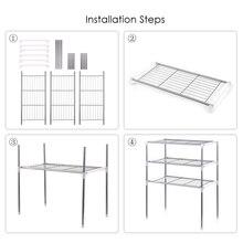 Einheit 2/3 Tier Multi funktionale Küche Lagerung Regal Tisch Rack Mikrowelle Regale Bad Buch Regal