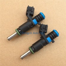 4pcs lot Auto Parts Original Fuel Injector OEM 55562599 Nozzle For Chevrolet Cruze 1 6L