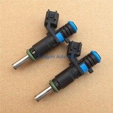 (4 unids/lote) Auto Parts Original OEM #55562599 Boquilla Del Inyector de Combustible Para Chevrolet Cruze 1.6L, 1.8L Para al por mayor y Al Por Menor