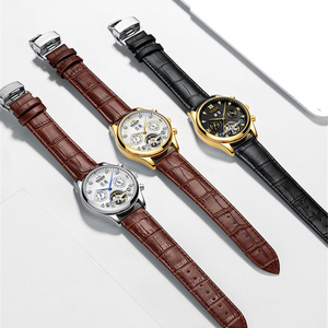 Image 5 - HAIQIN Mens watches Automatic mechanical Men Watches Business Watch men top brand luxury Military Waterproof Tourbillon Clock