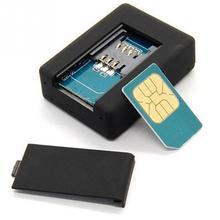 Милый черный мини-локатор в реальном времени, автомобильный детский трекер для домашних животных, GSM/GPRS/gps устройство слежения