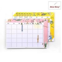 Oohlala Bentoy A4 Size Desk Note Pad Monthly Weekly Planner Desktop Memo Pad Schedule Agenda