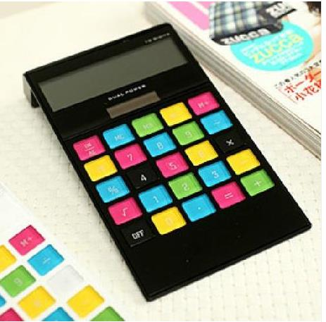 stationery office business day contracted fashion color buttons big style font b calculator b font lovely