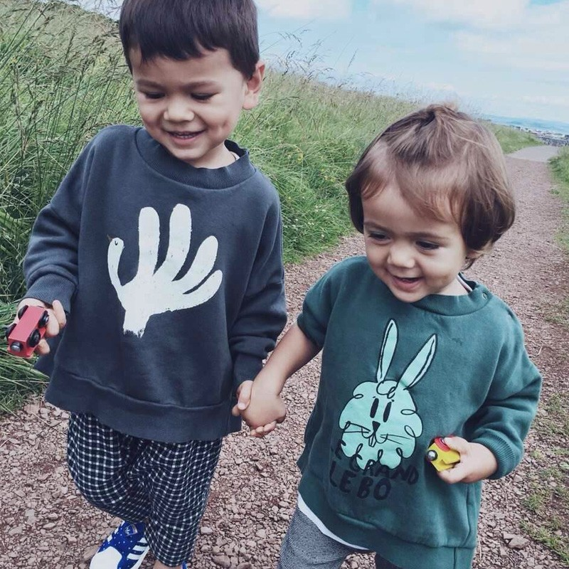 Bobo-Choses-Autumn-Kids-Patter-Hand-Trick-Bunny-Cloth-Boys-Girls-Toddler-Clothing-2016-New-Fall (1)