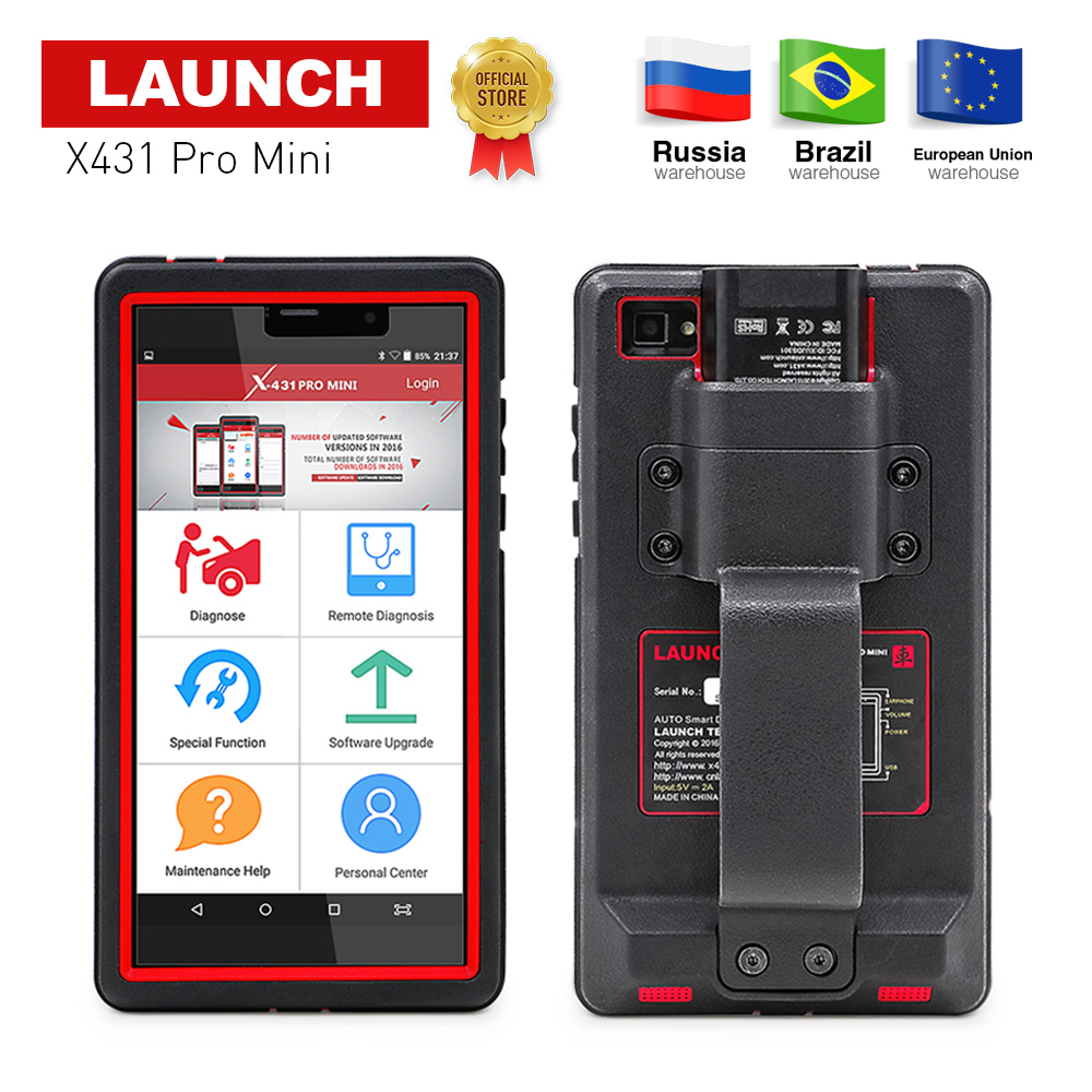 LAUNCH X431 Pro Mini Full Systems Auto Diagnostic scanner WiFi/Bluetooth X-431 Pro pros mini car Scanner 2 years free update все цены