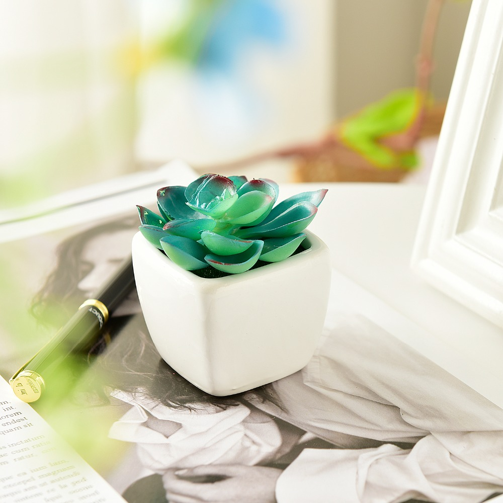 HD/_ 1//12 Trendy Handmade Craft Flower Bonsai Dollhouse Scenery Accessories Decor