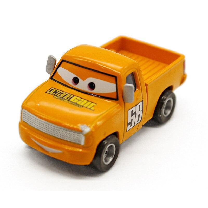 Pixar Movie Cars 3 Diecast Jackson Storm Mit Lkw 1:55 Lose Spielzeug Geschenk